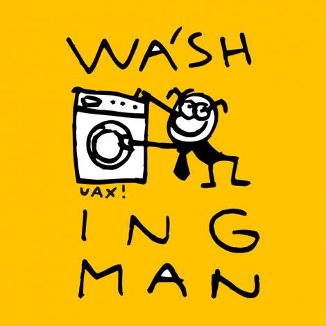 Potisk 1028 - WASH ING MAN