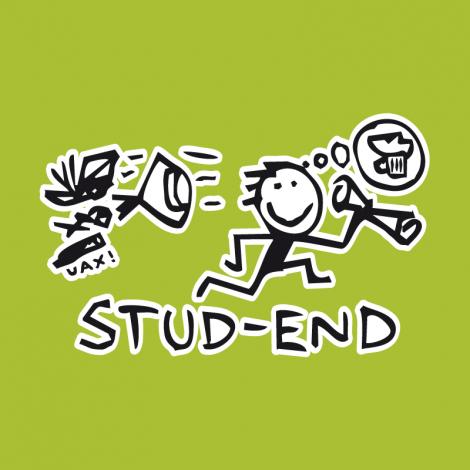 Potisk 1048 - STUD-END