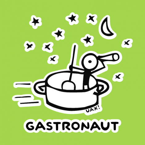 Design 1058 - GASTRONAUT