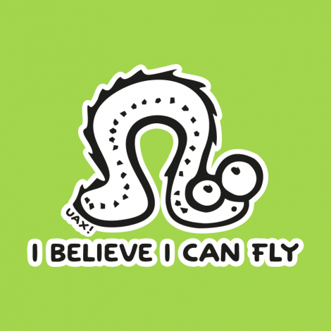 Design 1062 - I BELIVE I CAN FLY