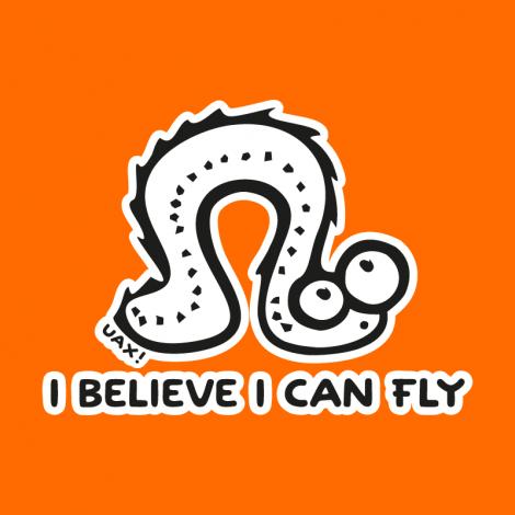 Design 1062 - I BELIVE I CAN FLY