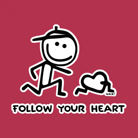 Potisk 1063 - FOLOW YOUR HEART
