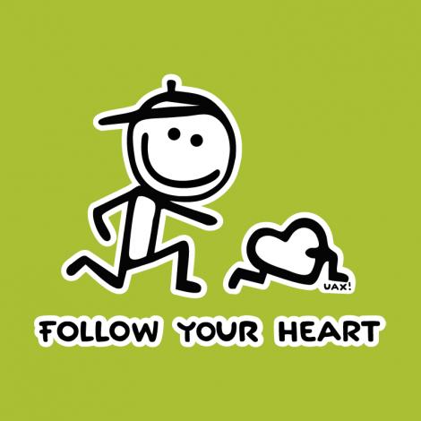 Potisk 1063 - FOLOW YOUR HEART