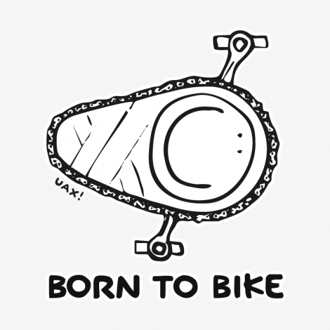 Design 1074 - BORN TO BIKE
