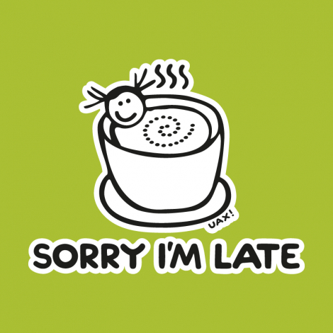 Design 1087 - SORRY IM LATE