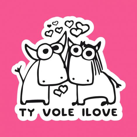 Design 1089 - TY VOLE I LOVE