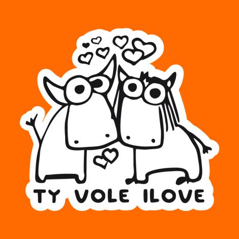 Potisk 1089 - TY VOLE I LOVE