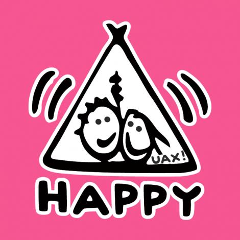 Potisk 1113 - HAPPY