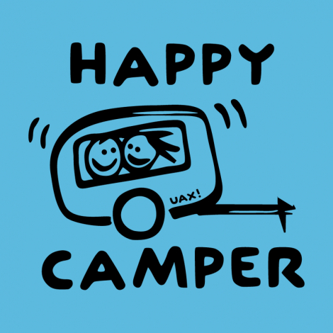Design 1116 - HAPPY CAMPER