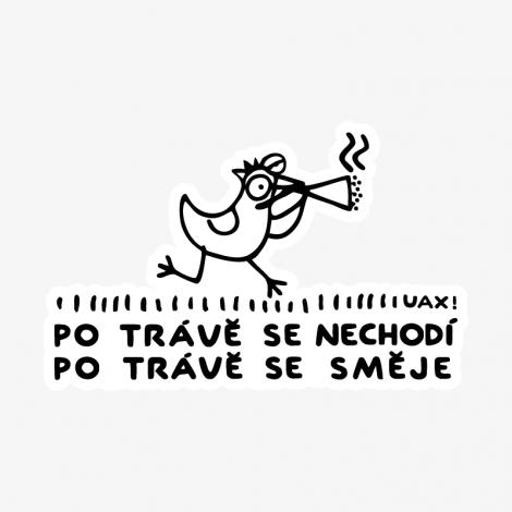 Design 1118 - PO TRÁVĚ SE SMĚJE