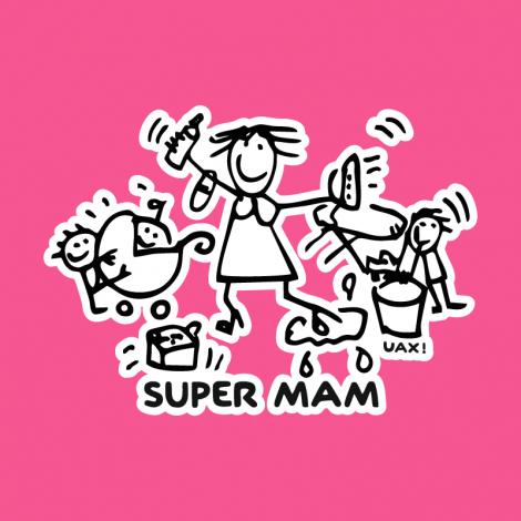 Potisk 1126 - SUPER MAM