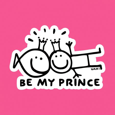 Potisk 1127 - BE MY PRINCE