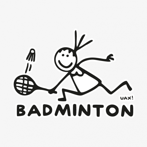 Potisk 1137 - BADMINTON