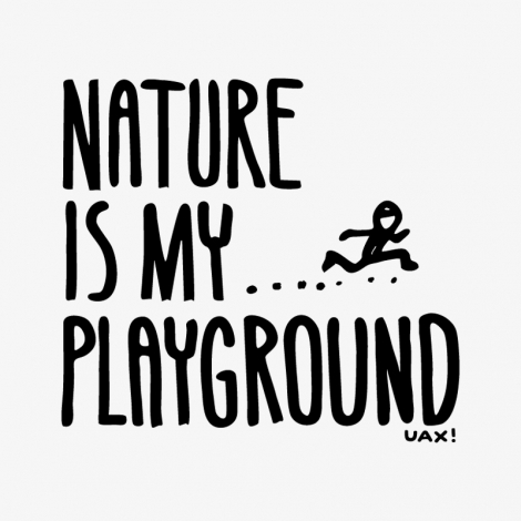 Design 1160 - NATURE IS MY PLAYGROUND