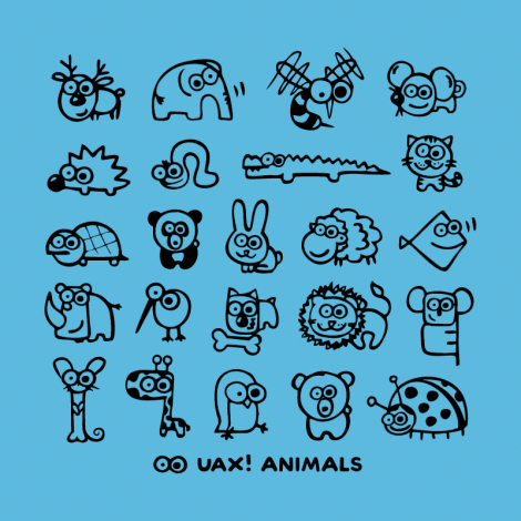 Design 1168 - UAX! ANIMALS