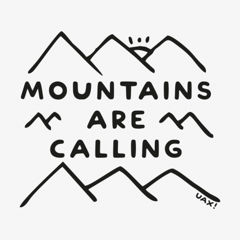 Potisk 1204 - MOUNTAINS ARE CALLING