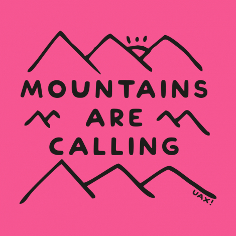 Design 1204 - MOUNTAINS ARE CALLING