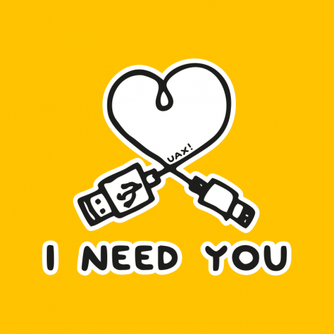 Potisk 1206 - I NEED YOU 2