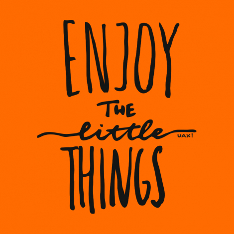 Potisk 1222 - ENJOY THE LITTLE THINGS