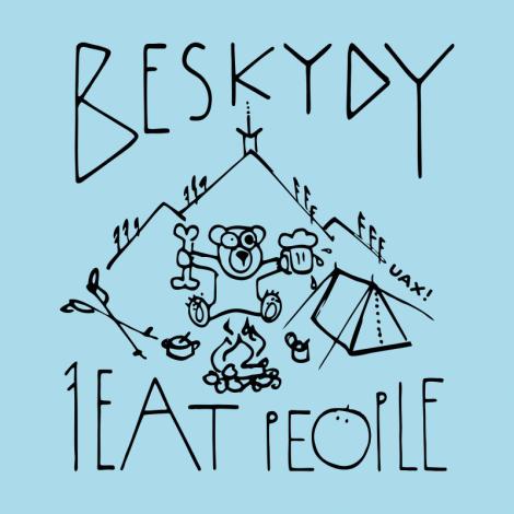 Potisk 1241 - I EAT PEOPLE BESKYDY