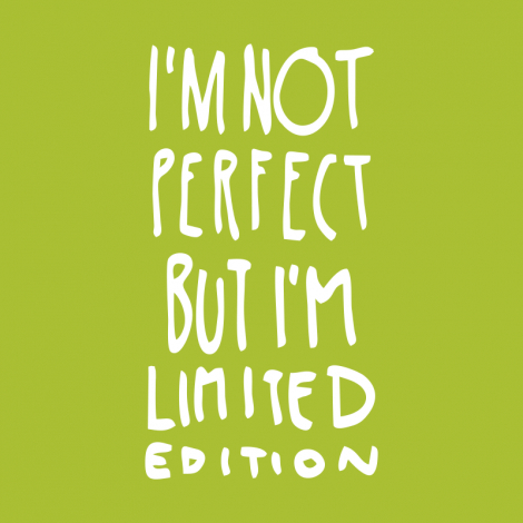 Design 1289 - IM NOT PERFECT