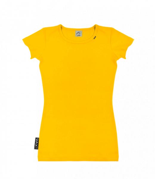 Dámské trička s potiskem SKRATDA UAX! - dámské tričko s výběrem potisku pro  ženy v barvě GOLDEN CREAM 9d159b2920
