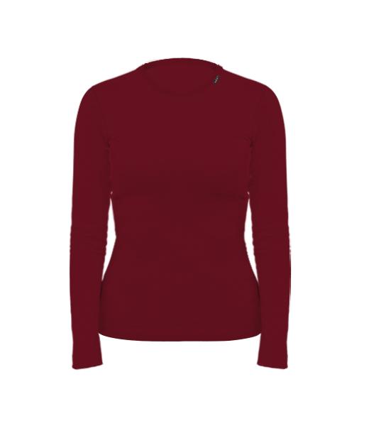 Trička s potiskem SKRATDA+ - dámské tričko s výběrem potisků Fitness  kolekce pro ženy v barvě DARK RED 48a0d7430b