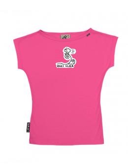 UAX Dámské tričko Netopýr s potiskem. Fitness kolekce pro ženy s potiskem  1036 OVČÍ VLNA v barvě INDIAN LILA  ec61447ada
