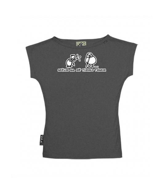 4650926b178 UAX Dámské tričko Netopýr s potiskem. Fitness kolekce pro ženy s ...