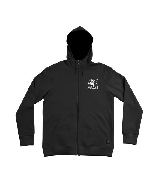 5ad47d095b2 Pánská mikina HOODED na zip s kapucí a potiskem pro muže s potiskem ...