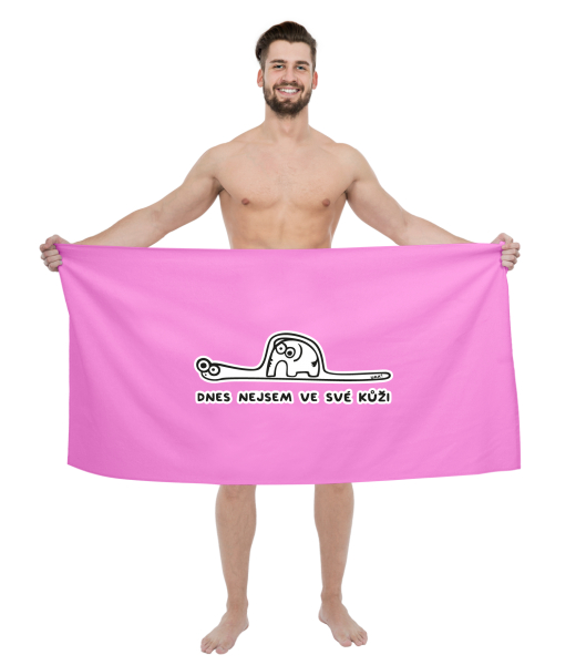 PRINTED BIG TOWELS