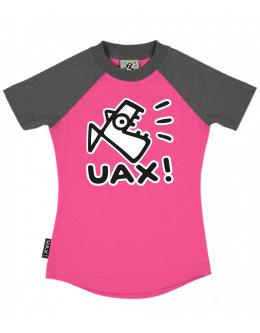 UAX Dámské tričko Netopýr s potiskem. Fitness kolekce pro ženy s ... acc4e8c387