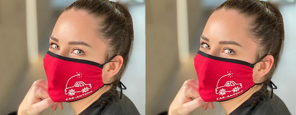 UAX BAVLNĚNÁ ROUŠKA KARANTENA ústenka maska na obličej