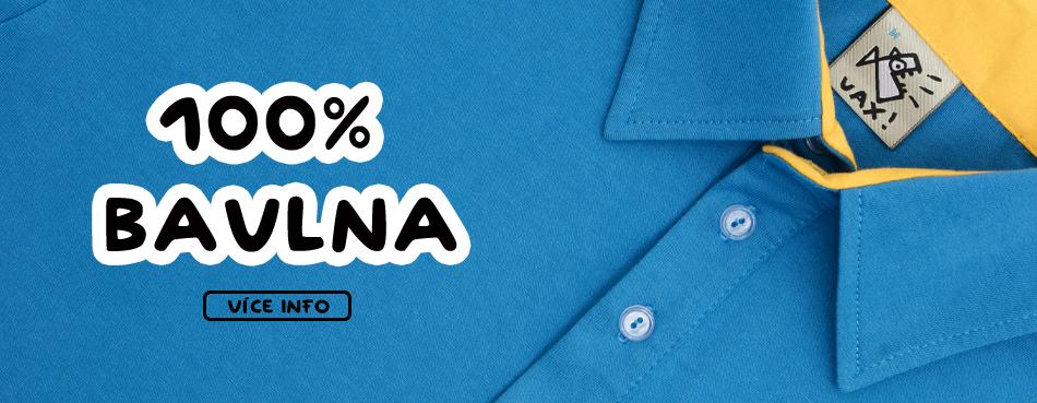 100% bavlna límečky