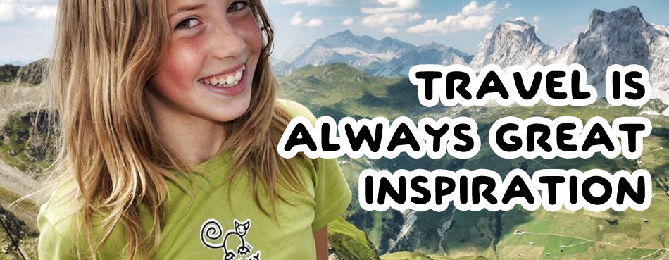 Travel is always great inspiration