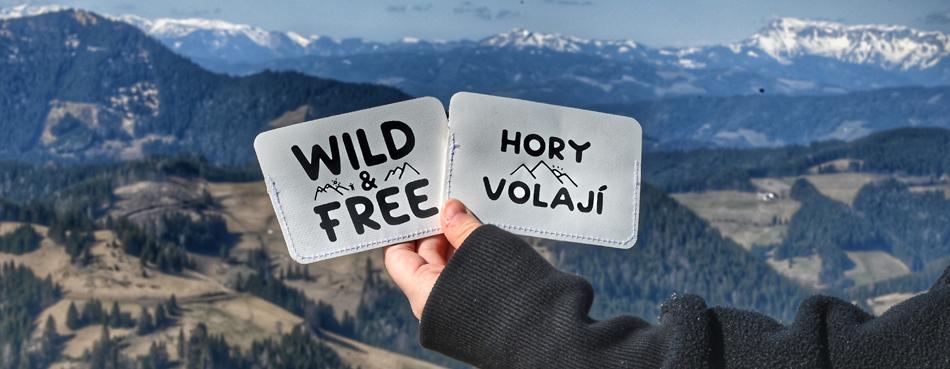 SLIM CARD HOLDER PENĚŽENKA NEBO POUZDRO NA KARTY S POTISKEM 1262 HORY VOLAJÍ