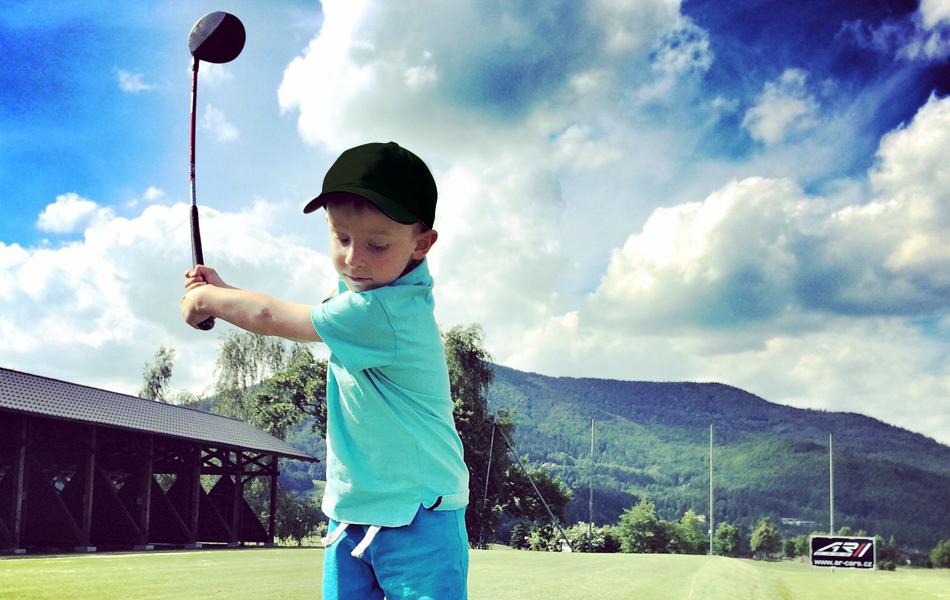 Golf kolekce UAX! Kšiltovka run