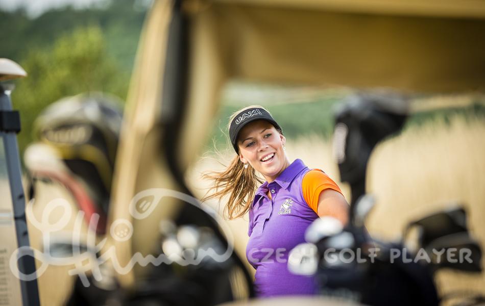 Golf kolekce UAX! Lucie Hinnerová