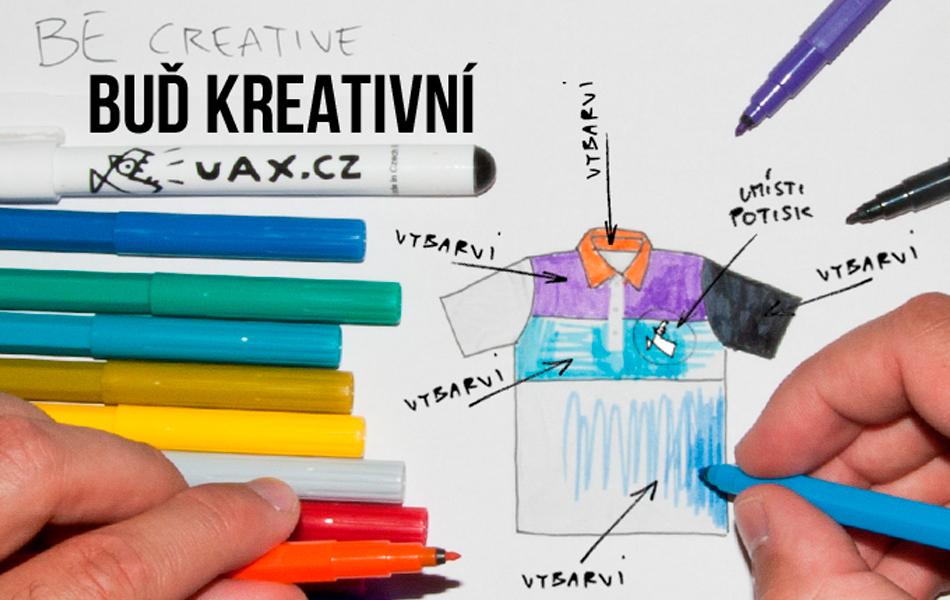 buď kreativní