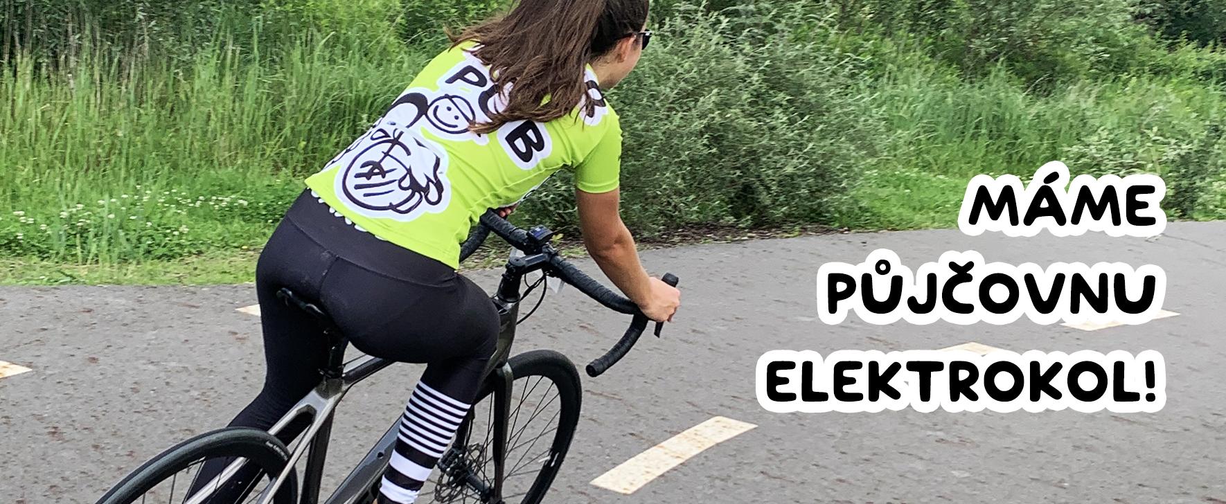 We have an e-bike rental!