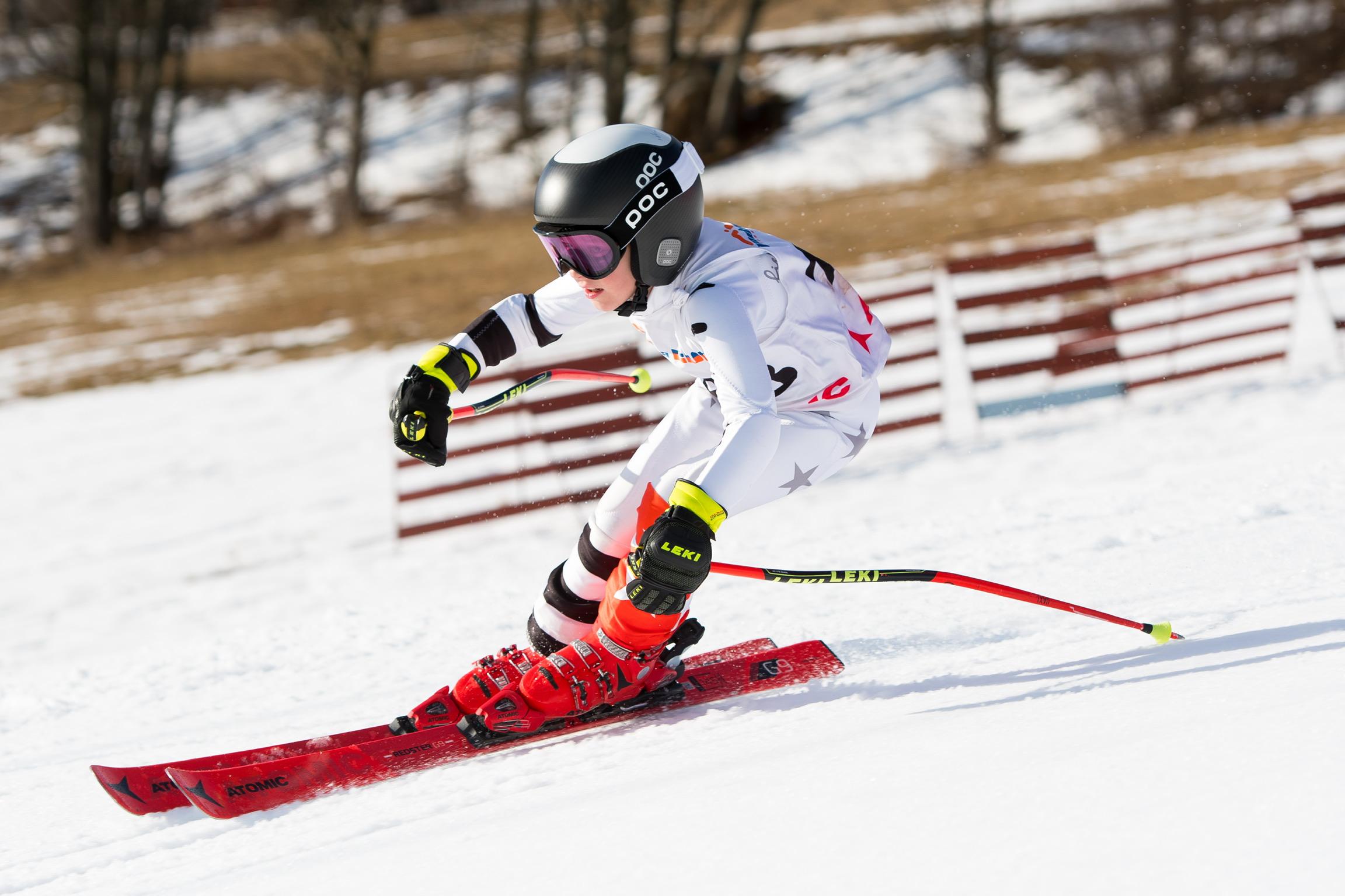 Ski racing kombinézy