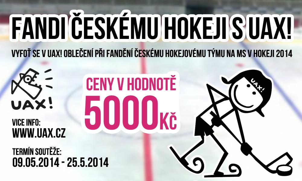 Fandi českému hokeji s UAX!