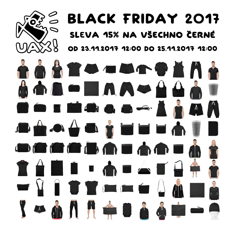 Sleva 15% na všechno černé